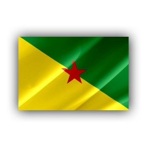 French Guyana - flag