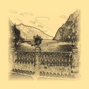 Lake Garda - drawing