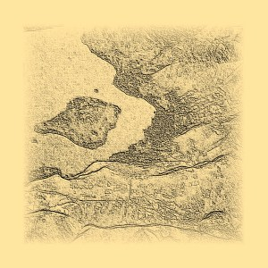 Lake Iseo - drawing