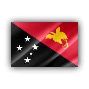 Papua New Guinea - flag
