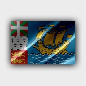 Saint Pierre and Miquelon - flag