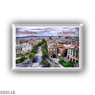 ES0116 Europe - Spain - Barcelona la Rambla