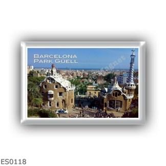 ES0118 Europe - Spain - Barcelona - Park Güell