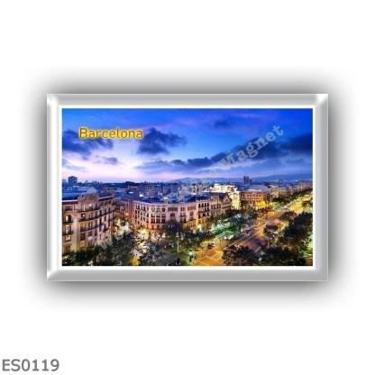 ES0119 Europe - Spain - Barcelona - Panorama
