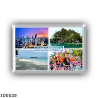 ID0025 Asia - Indonesia - Jakarta - Skyline - Macan Island - Sepa Island - Traditional Betawi dande Tari Yapong