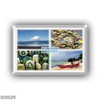 ID0029 Asia - Indonesia - Bali - Bali food - Balinese Stone Carvings - Padang beach