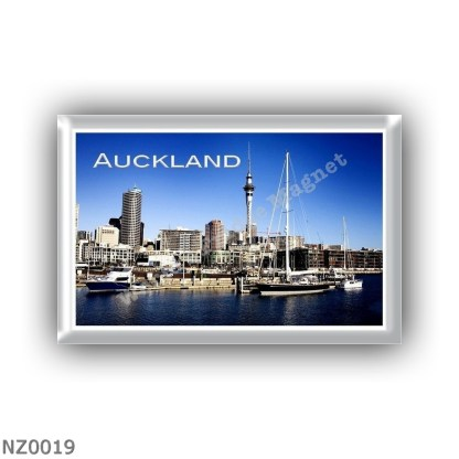 NZ0019 Oceania - New Zealand - Auckland - Westhaven Bay Harbor