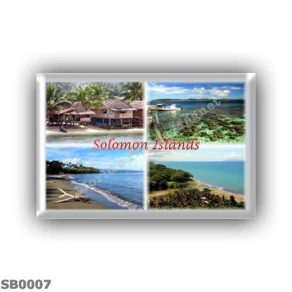 SB0007 Oceania - Solomon Islands - Malaita Islands - Gizo - Bonegi Beach - Honiara Shoreline