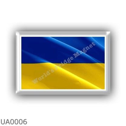 UA0006 Europe - Ukraine - flag - waving