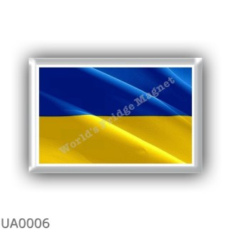 UA0006 Europe - Ukraine - flag - waving