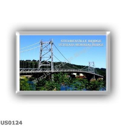 US0124 America - Usa - Ohio - Virginia - Steubenville Bridge - Veterans Memorial Bridge