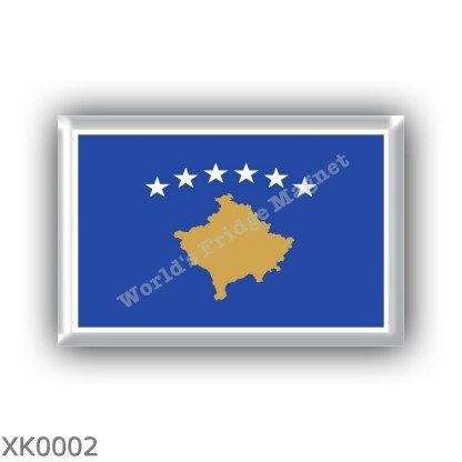 XK0002 Europe – Kosovo - flag