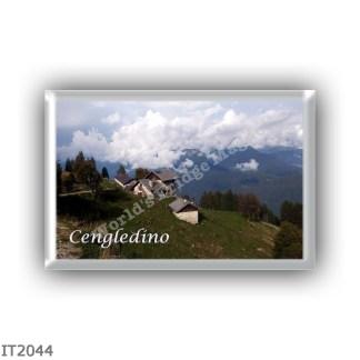 IT2044 Europe - Italy - Trentino Alto Adige Sudtirol Südtirol - Cengledino - mount - 2125 mt - alpine pasture -