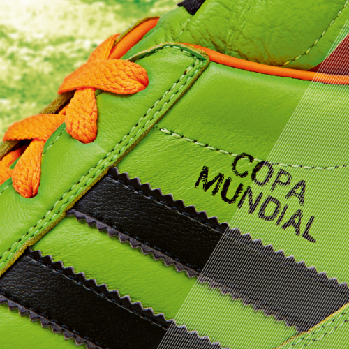 Samba Copa Mundial detail green a adidas Release Limited Edition Copa Mundial Soccer Cleats [PHOTOS]