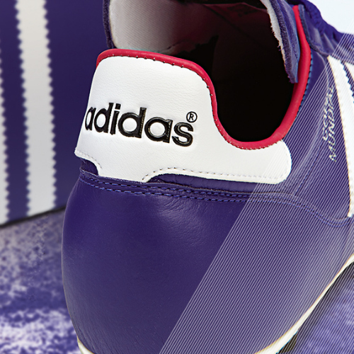 Samba Copa Mundial detail purple c adidas Release Limited Edition Copa Mundial Soccer Cleats [PHOTOS]