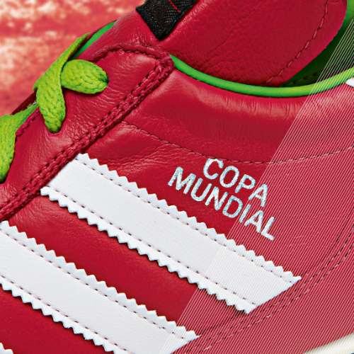 Samba Copa Mundial detail red a adidas Release Limited Edition Copa Mundial Soccer Cleats [PHOTOS]