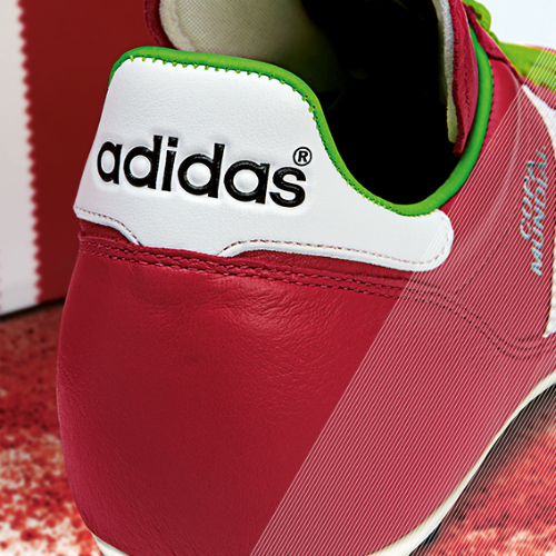 Samba Copa Mundial detail red b adidas Release Limited Edition Copa Mundial Soccer Cleats [PHOTOS]