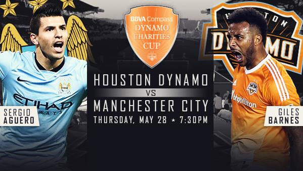 houston manchester city Manchester City to play Houston Dynamo just days after season ends
