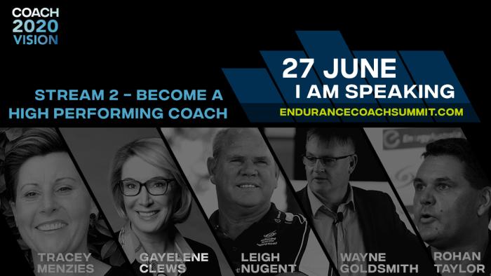 Stream 2 COACH 2020 VISION World Endurance Coaching Business Summit World Sport Coach On Demand
