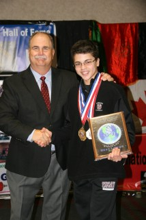 Best Lifter at the 2013 AAU World Championships