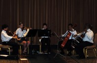 Tampa Prep Strings Ensemble performance, Orlando, Florida