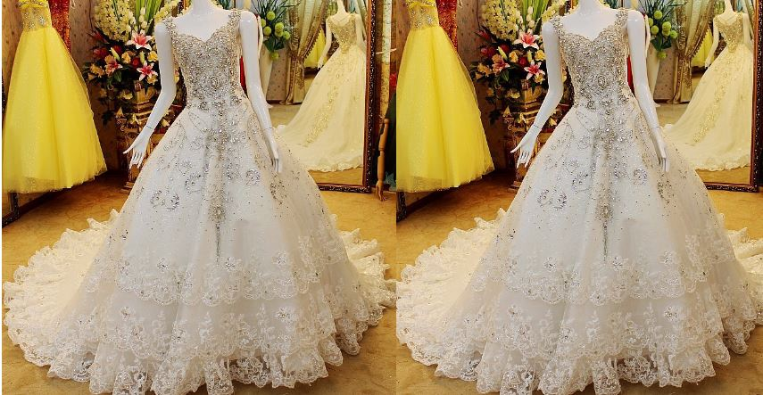 Most Expensive Wedding Dresses In The World 2017, Top 10 List