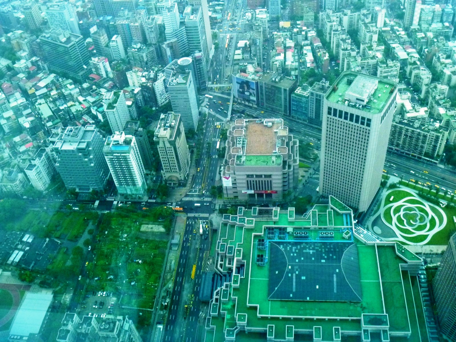 Taipei 101 Indoor Observatory Worlds To Trek