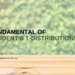 The Student's t-distribution: Small Sample Solution