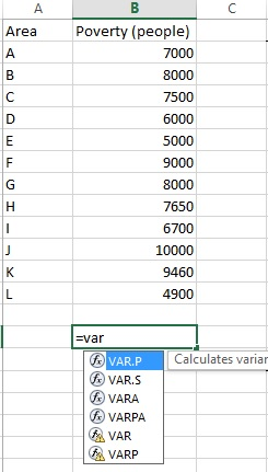 typing-descriptive-statistics-formula-in-excel