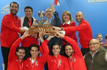Egypt beat England to retain the title