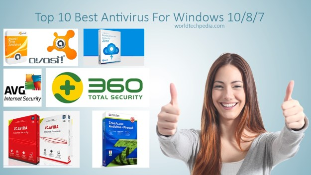 Top 10 Best Antivirus For Windows 10/8/7