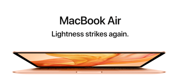 New Apple MacBook Air 2018 Specs