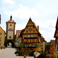 Picking the Perfect Day Trip from Frankfurt, Stuttgart or Munich - Rothenburg ob der Tauber to see the best medieval village in Germany