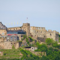 Viewing the Historic and Beautiful Castles during a Middle Rhein River Cruise