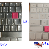 Difference between a German vs. an American Keyboard?  Yeah, there's such a thing!