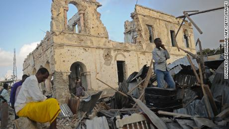 14 Killed In Mogadishu Car Bombing