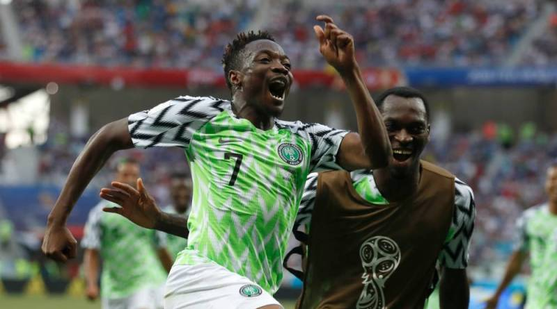 Ahmed Musa Scores Brace As Super Eagles Defeat Iceland