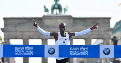 Kipchoge Sets New Marathon World Record With 2.01:39 Time