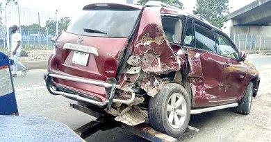 Woman, Children Escape Death In Lagos Accident
