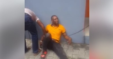 UNIPORT Criminology Graduate Caught Stealing In GTBank In Port-Harcourt