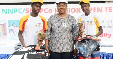 Champions Emerge In NNPC/SNEPCo Junior Tennis Tournament
