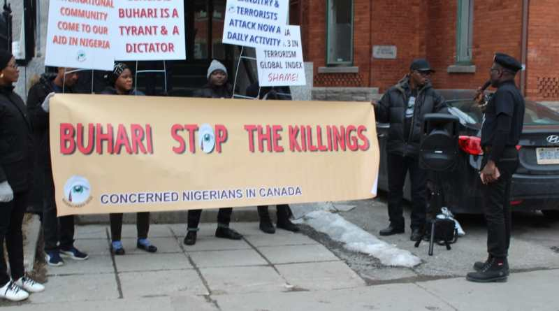 Insecurity/Cabal: 'Buhari Must Go' Campaign Hit Canada
