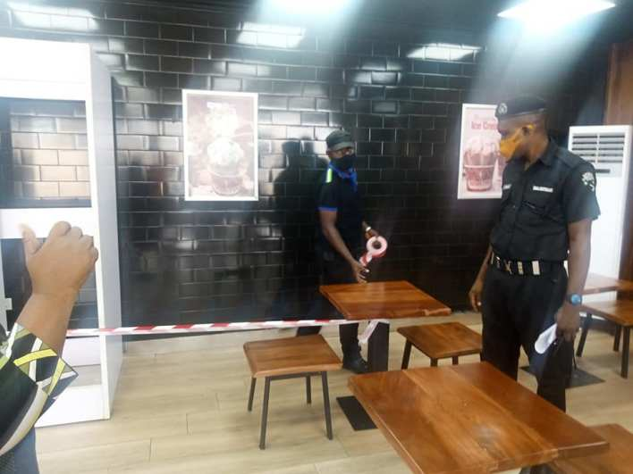 Edo Taskforce Seals Up Cold Stone, Domino Pizza For Flouting COVID-19 Guidelines