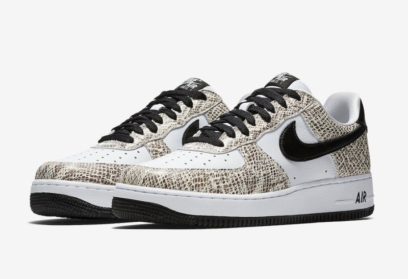 half off 6d1e0 d9f1d Air Force1 Low Cocoa Snake releasing on November 16th.