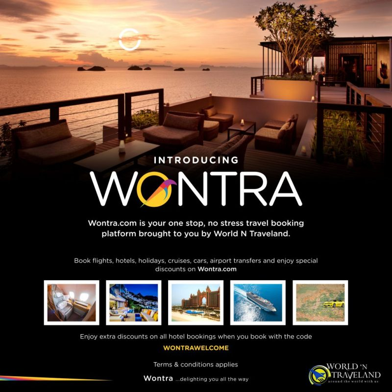 Save up to 40% off on Hotel Bookings with WONTRAWELCOME
