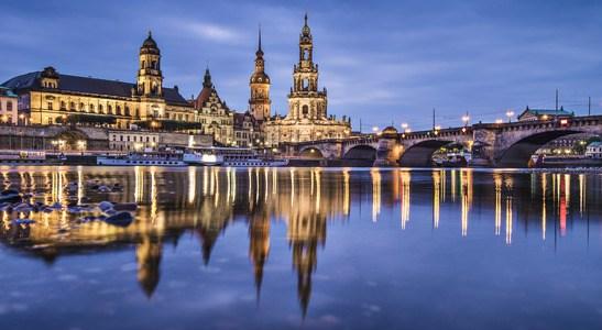 Skyline of Dresden, Germany