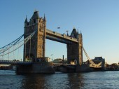 The London Bridge in London, United Kingdom