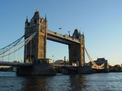 The London Bridge in London, United Kingdom
