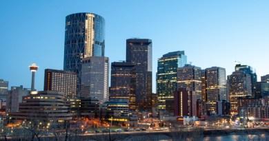 View of Calgary, Alberta, Canada