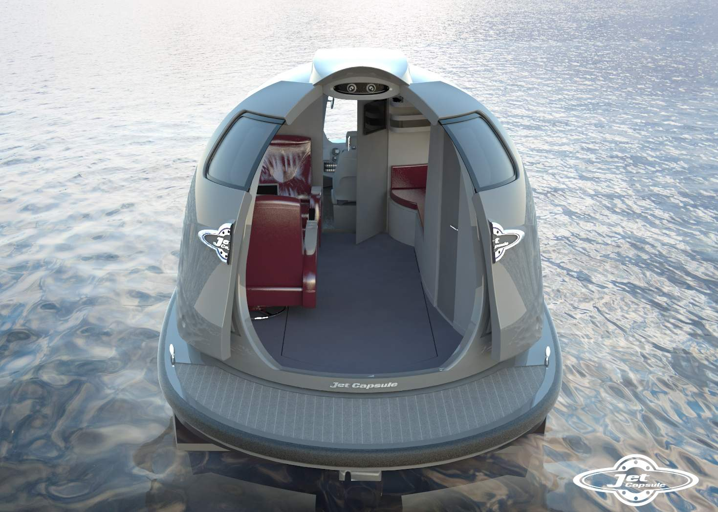 Jet Capsule Custom Interior World Traveled Family